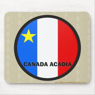 Canada Acadia Roundel quality Flag Mouse Pad