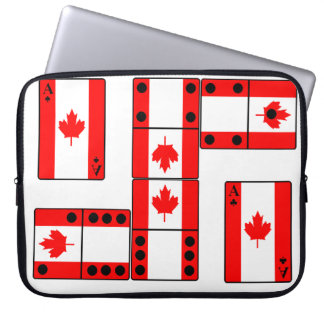 Canada Ace Cards and Domino's Laptop Sleeve