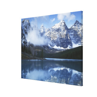 Canada, Alberta, Banff National Park, Lake Stretched Canvas Prints