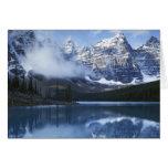 Canada, Alberta, Banff National Park, Lake Greeting Card