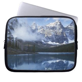 Canada, Alberta, Banff National Park, Lake Laptop Computer Sleeve
