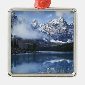 Canada, Alberta, Banff National Park, Lake Metal Ornament