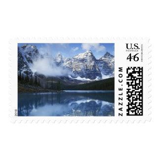 Canada, Alberta, Banff National Park, Lake Postage