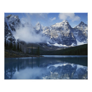 Canada, Alberta, Banff National Park, Lake Poster