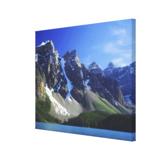 Canada, Alberta, Banff National Park, Moraine Gallery Wrapped Canvas