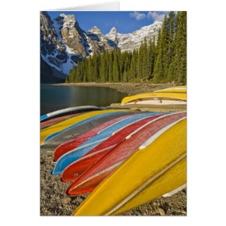 Canada, Alberta, Banff National Park, Moraine Card
