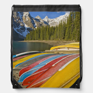 Canada, Alberta, Banff National Park, Moraine Drawstring Backpack