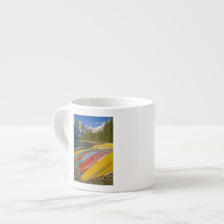 Canada, Alberta, Banff National Park, Moraine Espresso Cup