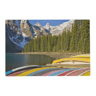Canada, Alberta, Banff National Park, Moraine Placemat