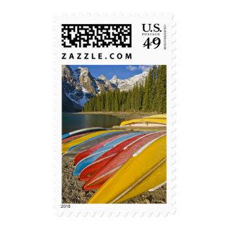 Canada, Alberta, Banff National Park, Moraine Stamp