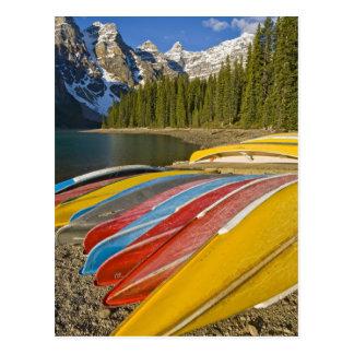 Canada, Alberta, Banff National Park, Moraine Postcards