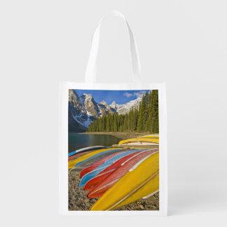 Canada, Alberta, Banff National Park, Moraine Reusable Grocery Bag