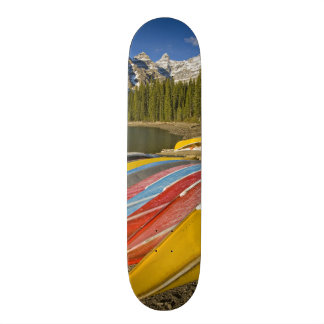 Canada, Alberta, Banff National Park, Moraine Skateboard