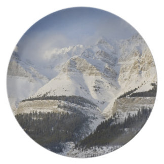 Canada, Alberta, Banff National Park. View of Dinner Plate