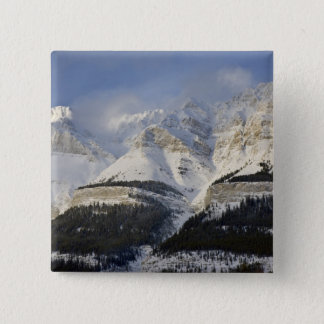 Canada, Alberta, Banff National Park. View of Pinback Button