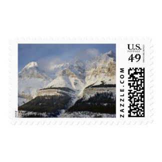 Canada, Alberta, Banff National Park. View of Postage Stamps
