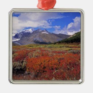 Canada, Alberta, Banff NP. Huckleberries bloom Christmas Ornament