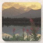 Canada, Alberta, Banff. Sunrise scenic of Coaster