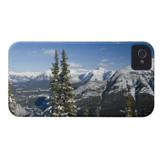 Canada, Alberta, Banff. Views of the Bow Valley iPhone 4 Case-Mate Case