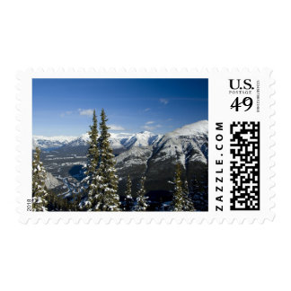 Canada, Alberta, Banff. Views of the Bow Valley Stamps