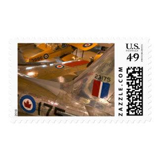 Canada, Alberta, Calgary: Aero Space Museum of Postage