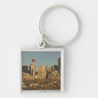 Canada, Alberta, Calgary: City Skyline from 2 Key Chains