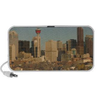 Canada, Alberta, Calgary: City Skyline from 2 Laptop Speaker