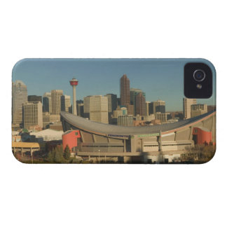 Canada, Alberta, Calgary: City Skyline from 3 iPhone 4 Case-Mate Case