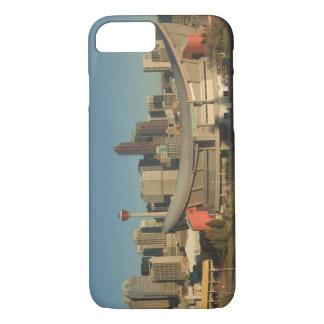 Canada, Alberta, Calgary: City Skyline from 3 iPhone 8/7 Case