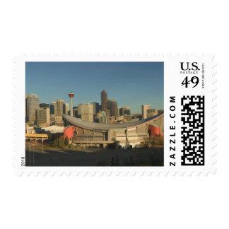 Canada, Alberta, Calgary: City Skyline from 3 Postage