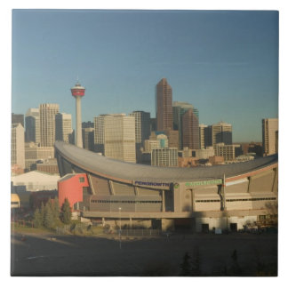 Canada, Alberta, Calgary: City Skyline from 3 Tile