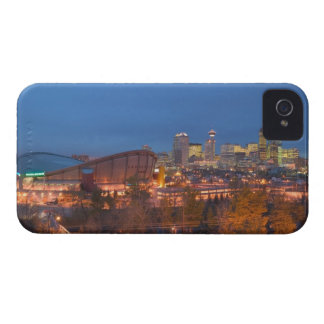 Canada, Alberta, Calgary: City Skyline from 4 Case-Mate iPhone 4 Case