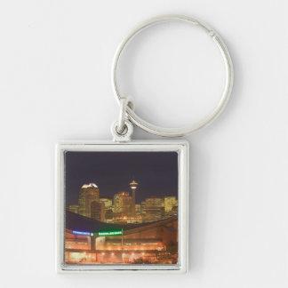 Canada, Alberta, Calgary: City Skyline from Keychain