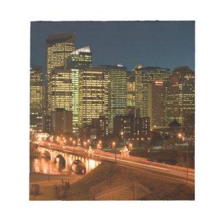 Canada, Alberta, Calgary: Downtown Calgary, Notepad