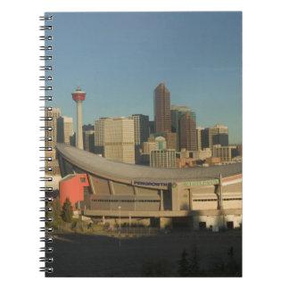 Canadá, Alberta, Calgary: Horizonte de la ciudad a Libretas