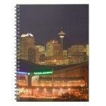 Canadá, Alberta, Calgary: Horizonte de la ciudad d Libretas