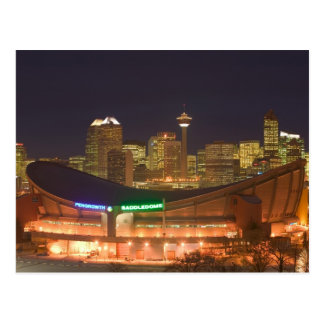 Canadá, Alberta, Calgary: Horizonte de la ciudad d Tarjeta Postal