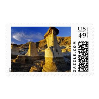 Canada Alberta Drumheller Hoodoos Postage Stamp