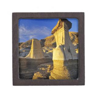Canada Alberta Drumheller Hoodoos Premium Keepsake Boxes