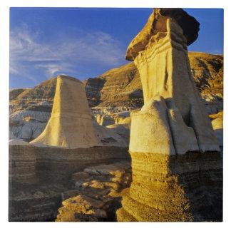 Canada Alberta Drumheller Hoodoos Tiles