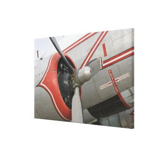 Canada, Alberta, Edmonton: Alberta Aviation Canvas Prints