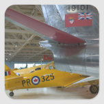 Canadá, Alberta, Edmonton: Aviación 2 de Alberta Calcomanía Cuadradase