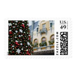 Canada, Alberta, Edmonton. West Edmonton Mall. Postage Stamp