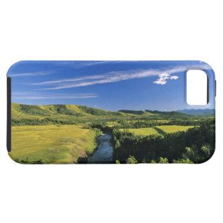 Canadá, Alberta, el río de Highwood a lo largo del iPhone 5 Carcasas