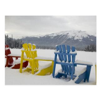 Canadá, Alberta, jaspe, jaspe NP. Fairmont Tarjetas Postales