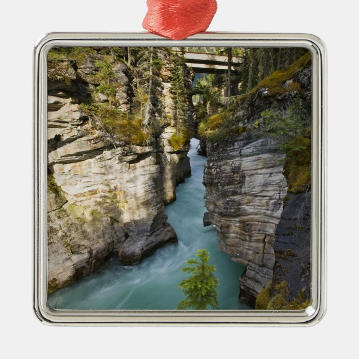 Canada, Alberta, Jasper National Park, Athabasca 2 Metal Ornament