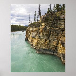 Canada, Alberta, Jasper National Park, Athabasca Poster