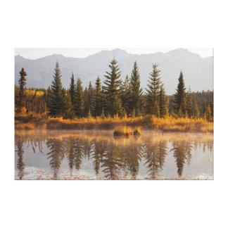 Canada, Alberta, Jasper National Park Canvas Print