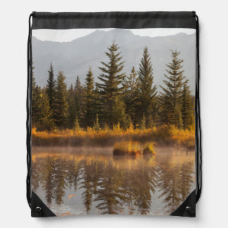 Canada, Alberta, Jasper National Park Drawstring Bag