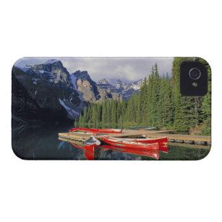 Canadá, Alberta, lago moraine. El vidrioso iPhone 4 Carcasas